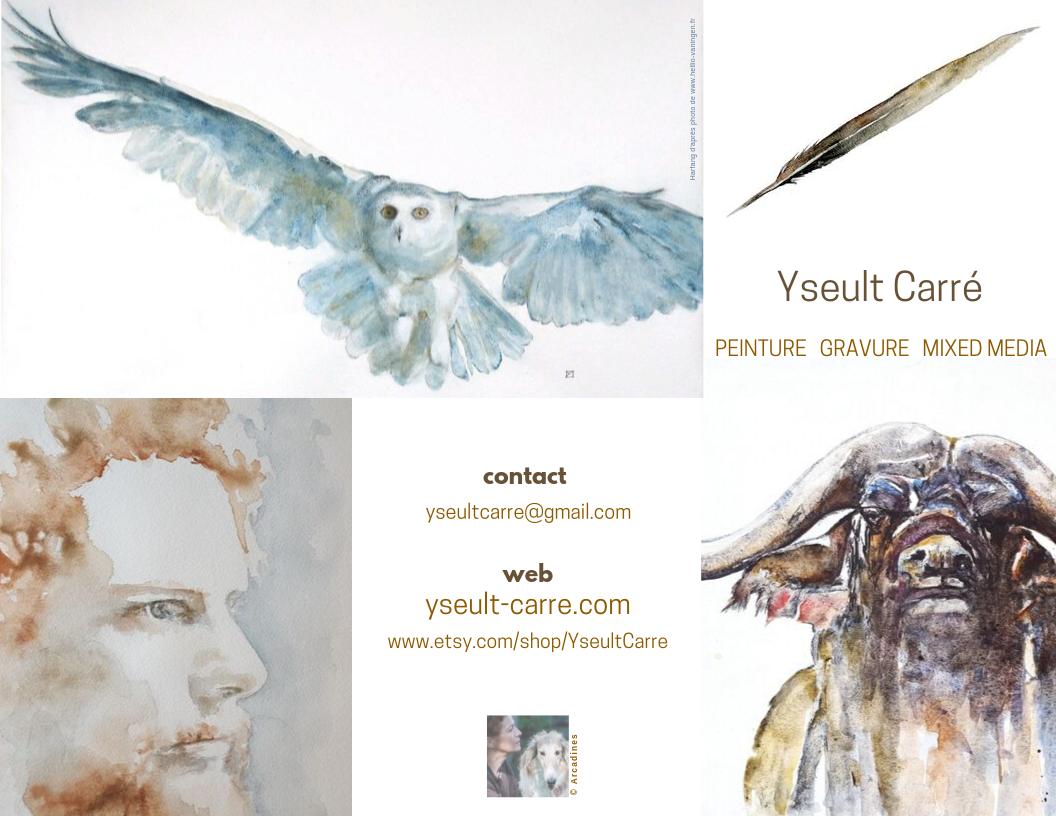Yseult Carré peintre - flyer 1