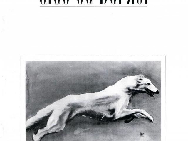 Revue du Club du Barzoï – 1ère de couverture