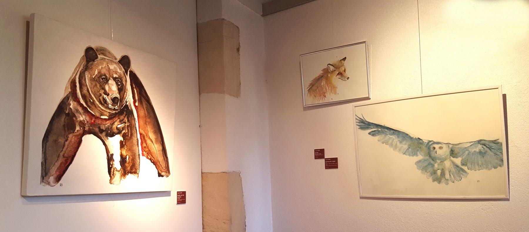 exposition art animalier musée Saint-Vic copyright Yseult Carré