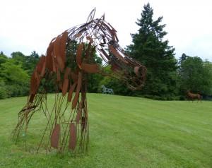 Alerte - sculpture de Christian Hirlay - crédit photo Yseult Carré