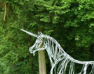 La Licorne (détail) - sculpture de Christian Hirlay - crédit photo Yseult Carré