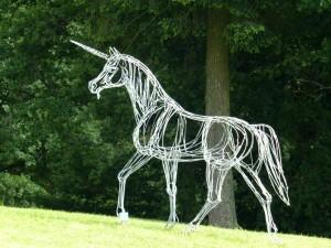 La Licorne - sculpture de Christian Hirlay - crédit photo Yseult Carré