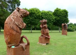 Les Rats et Le Taureau - sculpture de Jurgen Lingl-Rebetez  - crédit photo Yseult Carré