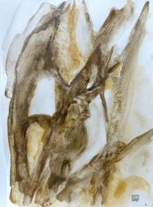 cerf-brame-sologne-a-tempera-pigments-naturels-copyright-yseult-carre