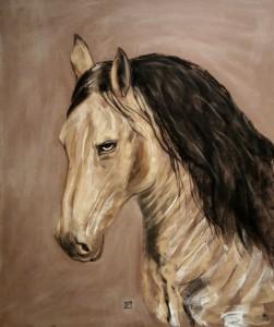macho-cheval-andalou-de-l-almeria-parc-d-apres-photo-de-pastel-sec-copyright-yseult-carre