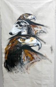 Olmeda, Galga et aigles royaux © Yseult Carré