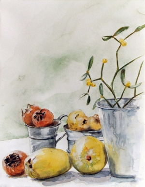 Nature morte aux coings